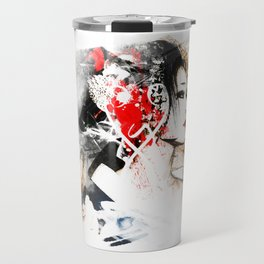 Japanese Woman Travel Mug
