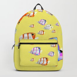 Tropical fish Yellow edition Backpack