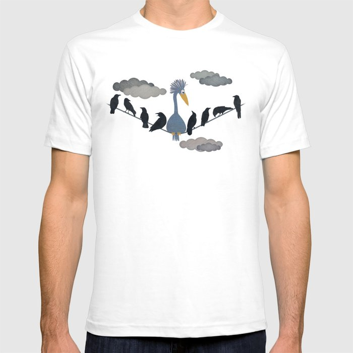 "For ""The Birds"" T-shirt"