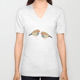 The finches Unisex V-Neck
