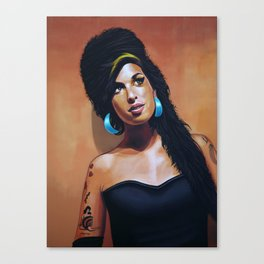 Amy Painting Canvas Print