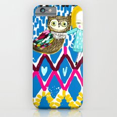 owl and girl love Slim Case iPhone 6s