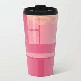 pink noon Travel Mug