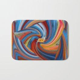 Colorful Waves Bath Mat