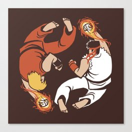Super Yin Yang Canvas Print