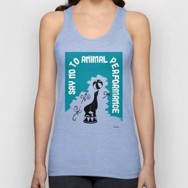 Say NO to Animal Performance - Seal Unisex Tank Top
