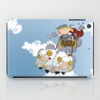 thor iPad Cases featuring Thor by Alapapaju