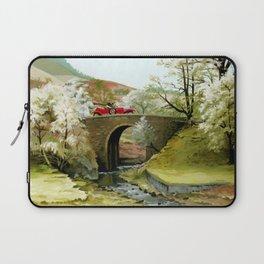 English Countryside Laptop Sleeve