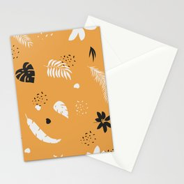 botanical leaves Stationery Cards