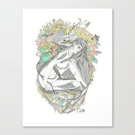 colour blind IV Canvas Print