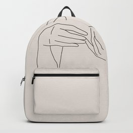 Abstract Line Art Backpack