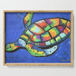 SeaTurtle Serving Tray