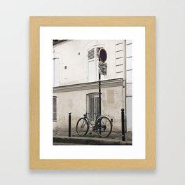 montmartre pt 1 Framed Art Print