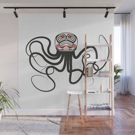 THE OCTOPUS Wall Mural