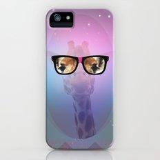 MY GIRAFFE GEEK iPhone (5, 5s) Slim Case