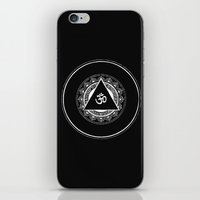 om iPhone & iPod Skins featuring om by Lis_Oh_No