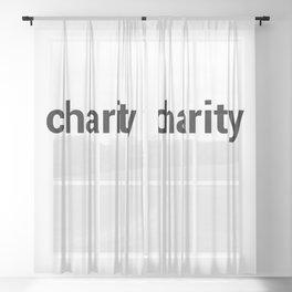charity Sheer Curtain
