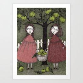 Grandmother's Apple Tree Art Print