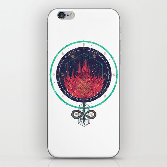 Fading Dahlia iPhone & iPod Skin