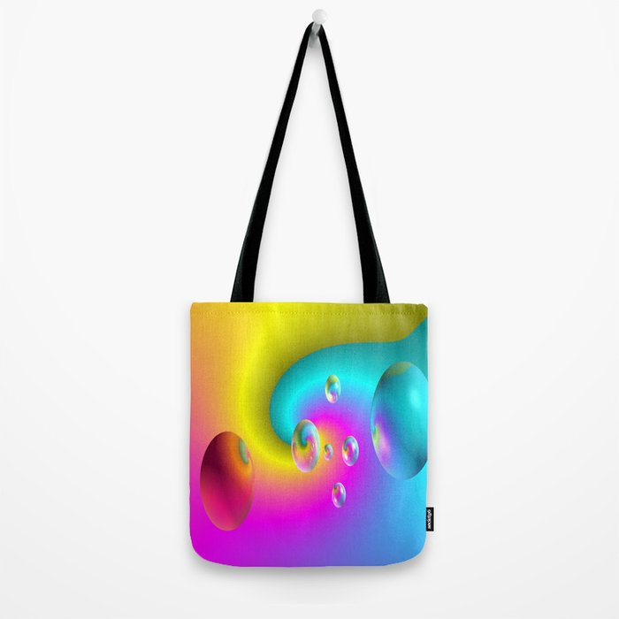Paintballs Tote Bag