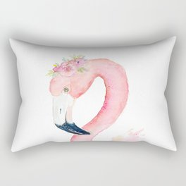 Sweet Flamingo Rectangular Pillow