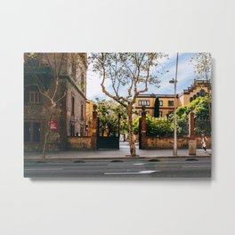 Eixample - Barcelona, Spain - #2 Metal Print