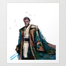 Obi-Wan Kenobi Art Print
