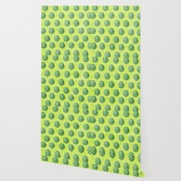 Artichoke pattern Wallpaper