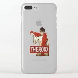 louis theroux Funny Clear iPhone Case