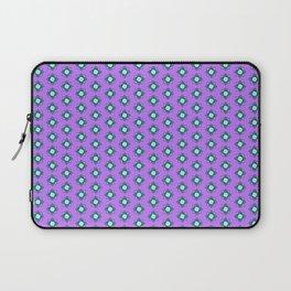Mandala pattern smal purple Laptop Sleeve