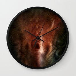 The screaming wall Wall Clock