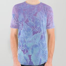 Frozen Leaves 3 All Over Graphic Tee