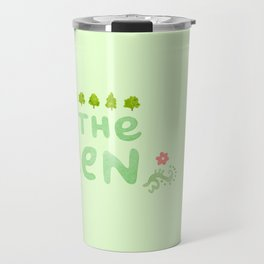 Save the Green Travel Mug