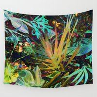 jungle Wall Tapestries featuring jungle by clemm