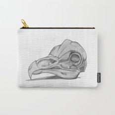 Barn Owl Skull Carry-All Pouch