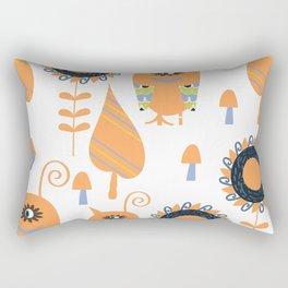 Monsters  pattern v4 Rectangular Pillow