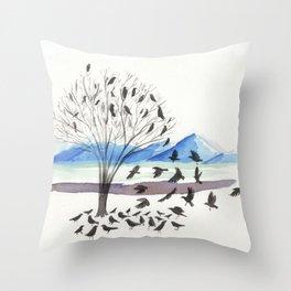 Krár Alþingi Throw Pillow