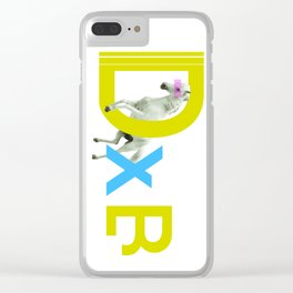 DXB Horse Clear iPhone Case