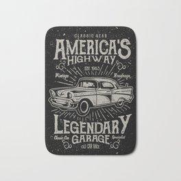 American Highway Star Bath Mat