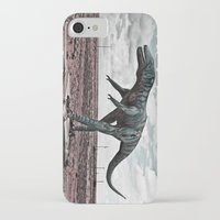 dino iPhone & iPod Cases featuring Dino by Nick Douillard