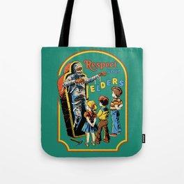 Respect Your Elders Tote Bag