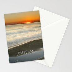 CARPE DIEM at summer Stationery Cards