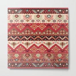 N57 - Bohemian Oriental Traditional Moroccan Original Style Design Metal Print