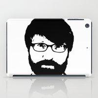 chuck iPad Cases featuring chuck klosterman by looseleaf