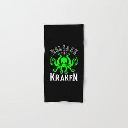 Release The Kraken Hand & Bath Towel
