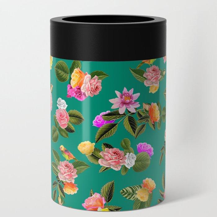Frida Floral Can Cooler