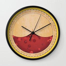 Swat Cobbler, Its Pie Time Wall Clock