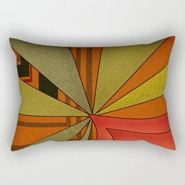 Abstraction. Sunset. Rectangular Pillow