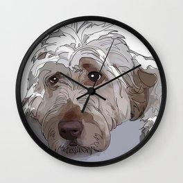 Shaggy Dog Wall Clock