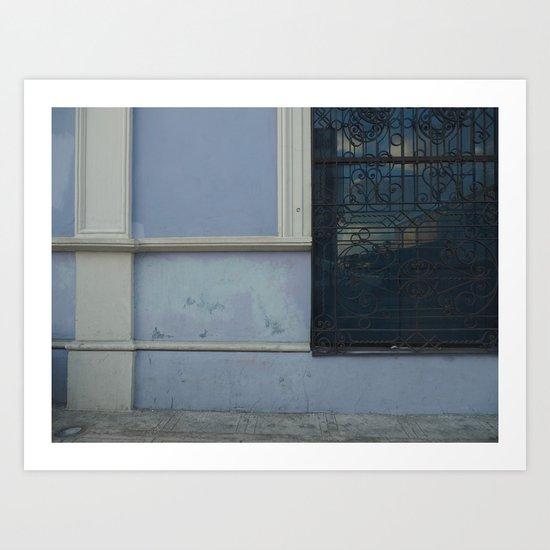 Merida Window Reflection Art Print